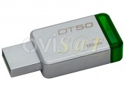 memoria-kingston-technology-datatraveler-50-unidad-flash-usb-16-gb-usb-3-1-para-windows-y-mac-plateada