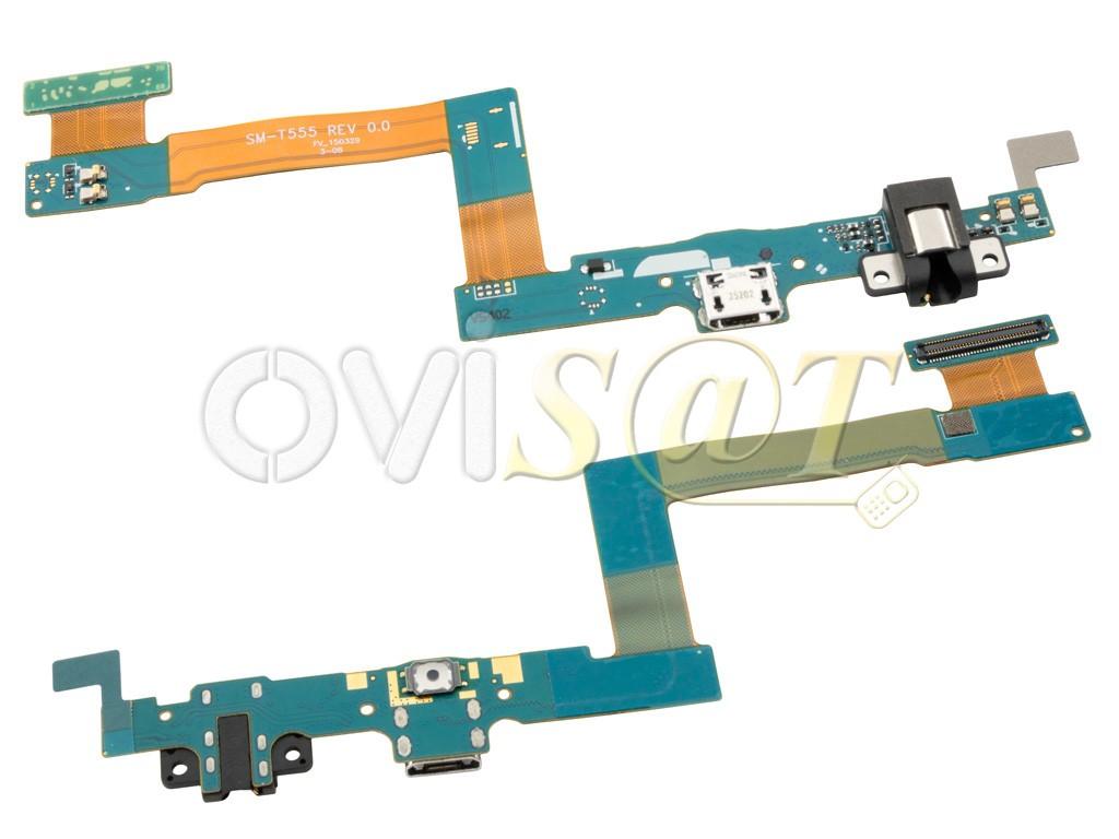 Circuito Flexible Ps4 : Circuito flex con conector de carga micro usb botón home