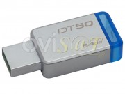 memoria-kingston-technology-datatraveler-50-unidad-flash-usb-64-gb-usb-3-1-para-windows-y-mac-plateada