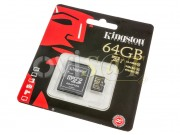 memoria-micro-sd-64gb-kingston-sdcx10-64gb-class-10